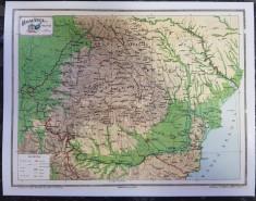 Harta Romania Politica foto