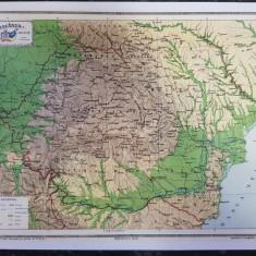 Harta Romania Politica