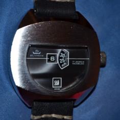 CEAS - BLUMUS - DIGITAL - Mecanic - 'Jump Hour' - Vintage - 40mm - Foarte RAR !