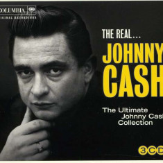 Johnny Cash The Real Johnn Cash digibook (3cd)