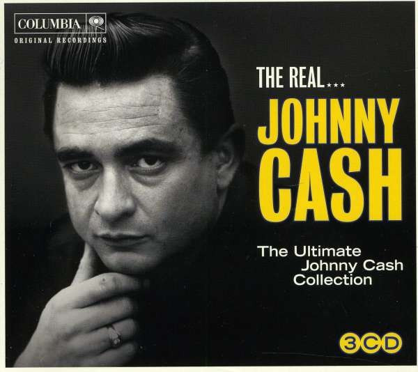 Johnny Cash The Real Johnn Cash digibook (3cd)