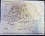 Harta Romania Miniera
