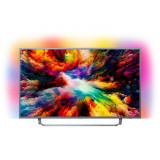 Televizor Philips LED Smart TV Ambilight 55 PUS7303/12 139cm Ultra HD 4K Grey