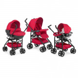 Carucior copii 3 in 1 Chicco Trio Sprint - Scarlet