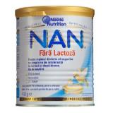 Lapte praf de inceput Nestle NAN fara lactoza, 400g