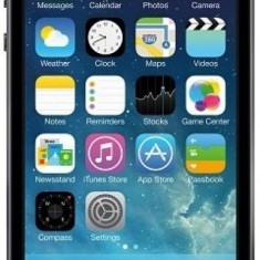 "Telefon Mobil Apple iPhone 5S, Procesor Dual-core 1.3 GHz, LED-backlit IPS LCD 4"", 1GB RAM, 16GB Flash, 8MP, Wi-Fi, 4G, iOS 7 (Gri), 4''"