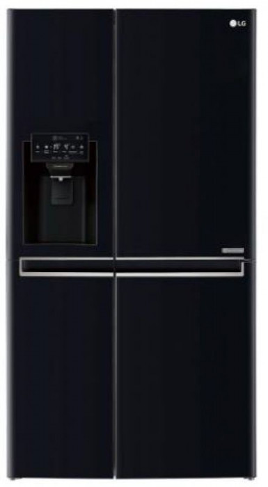 Frigider Side by Side LG GSJ760WBXV, No Frost, 600l, Clasa A+ (Negru)