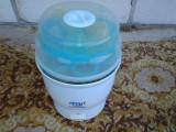 PHILIPS AVENT / sterilizator electric + 6 biberoane  NUK
