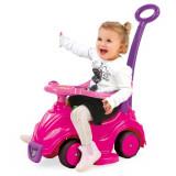 Masinuta fara pedale 4 in 1 Dolu Smile Car, Roz