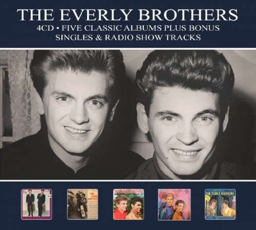 Everly Brothers - Five Classic Albums-Digi- ( 4 CD ) foto mare