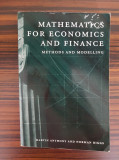 Martin Anthony & Norman Biggs, MATHEMATICS FOR ECONOMICS AND FINANCE