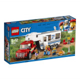LEGO® City Great Vehicles - Camioneta si rulota (60182)