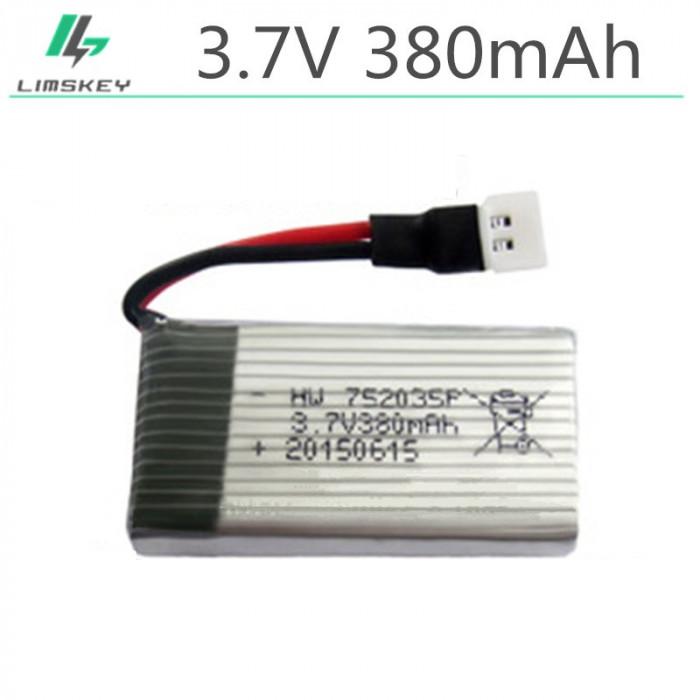 Baterie/Acumulator drona 3.7V 380mAh Li-Po Baterie