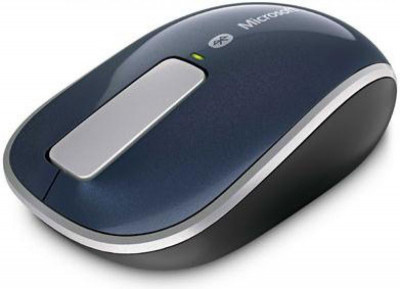 Mouse Microsoft Wireless Sculpt Touch (Albastru) foto