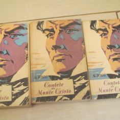 CONTELE DE MONTE CRISTO AL.DUMAS VOL,1,2,3