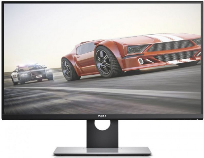 """Monitor Gaming TN LED Dell 27"""" S2716DG, WQHD (2560 x 1440), DisplayPort, HDMI, 1 ms FAST Mode, Pivot (Negru)"""