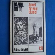JURNAL DIN ANUL CIUMEI / DANIEL DEFOE