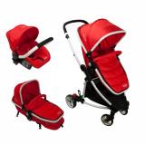 Carucior copii 3 in 1 Noriel Bebe - Rosu