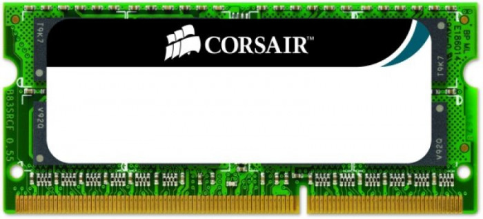 Memorie Laptop Corsair So-DIMM Value Select DDR3, 1x4GB, 1066MHz