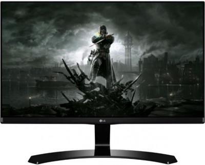 "Monitor Gaming IPS LED LG 27"" 27MP68VQ-P, Full HD (1920 x 1080), HDMI, VGA, 5 ms, Boxe (Negru) foto"