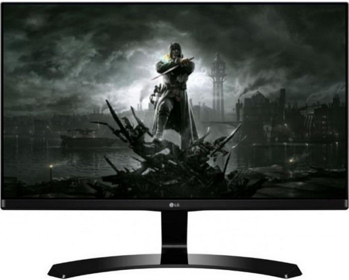 "Monitor Gaming IPS LED LG 27"" 27MP68VQ-P, Full HD (1920 x 1080), HDMI, VGA, 5 ms, Boxe (Negru)"