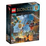 LEGO® Bionicle - Creatorul de masti fata-n fata cu Craniul macinator (70795)