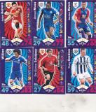 Bnk crc Cartonase de colectie - Topps - 16 bucati diferite  fotbalisti