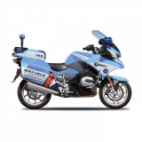 Motocicleta Maisto Police Authority 1:18
