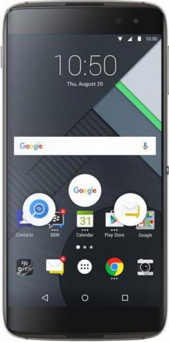 "Telefon Mobil BlackBerry DTEK60, Procesor Quad-Core 2.1 GHz / 1.6 GHz, IPS LCD capacitive touchscreen 5.5"", 4GB RAM, 32GB Flash, 21MP, Wi-Fi"
