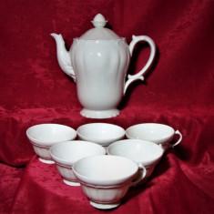 Set ceai portelan Limoges, sec 19, Baroc, colectie, cadou, vintage