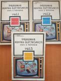 INDRUMAR PENTRU ELECTRONISTI RADIO SI TELEVIZIUNE - Gazdaru (3 vol)