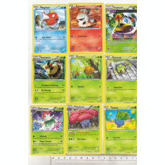 bnk crc Cartonase de colectie - Pokemon 2015 - 50 diferite