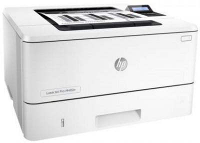 Imprimanta laser alb/negru HP LaserJet Pro M402n, A4, 38 ppm, ePrint, AirPrint foto