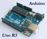 placa dezvoltare arduino uno r3 (atmega328p + atmega32u4) originala cablu usb