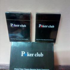 Carti Poker Club plastificate 100%