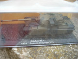 Macheta tanc Chieftain Mk. 5 Germany - 1984 + revista scara 1:72