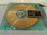 MiniDisc TDK Gold minidisc Digital MD TDK 74min transparent auriu Rar Japonia