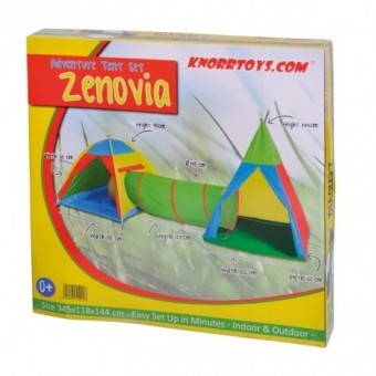 Ansamblu corturi de joaca Zenovia Multicolor foto