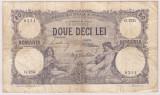 ROMANIA 20 LEI FEBRUARIE 1913 F