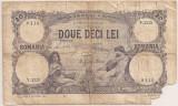 ROMANIA 20 LEI FEBRUARIE 1913 U