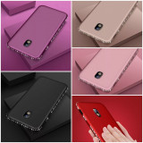 Husa silicon Diamond Samsung Galaxy J3 2017 / J5 2017 / J7 2017 / A5 2017, Alt model telefon Samsung, Auriu, Mov, Negru, Rosu, Roz