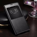 Husa flip Samsung Galaxy S5, Alt model telefon Samsung, Negru, Alt material