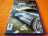 Need For Speed Most Wanted, NFS, PS2, original! Alte sute de jocuri!, Curse auto-moto, 3+, Single player, Ea Games