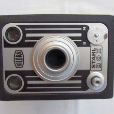 Aparat foto vintage Bilora Stahl Box
