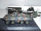 Macheta tanc SPAHPANZER LUCHS GERMANY 2000 + revista scara 1:72