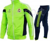 Trening REAL MADRID - Bluza si pantaloni conici - Modele noi - Pret Special 1245, XL, XXL, Din imagine
