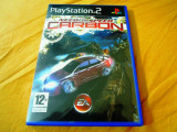 Need For Speed Carbon, NFS, PS2, original!, Curse auto-moto, 3+, Single player, Ea Games