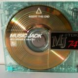 MiniDisc TDK Gold minidisc Digital MD TDK 74min transparent auriu Rar Japonia