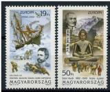 Ungaria, Europa - CEPT, 1995, mari exploratori, corabii, MNH, Nestampilat
