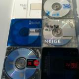 MiniDisc lot 6 buc. minidisc Digital MD Sony TDK Maxell Axia 74min/80min Japonia